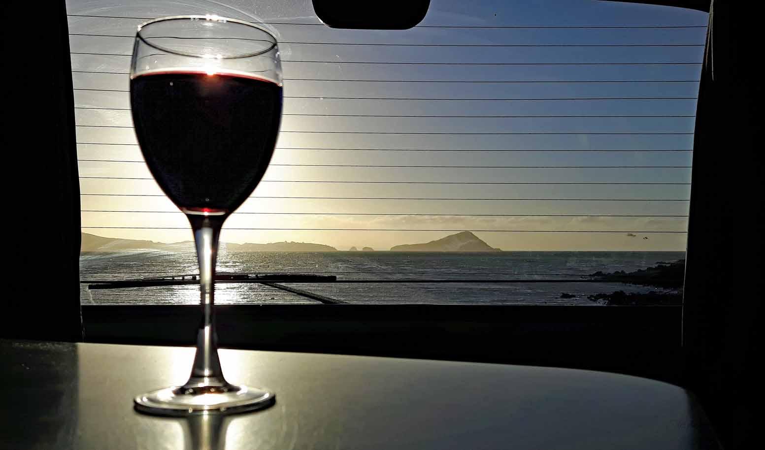 Coromandel Long Bay Sunset