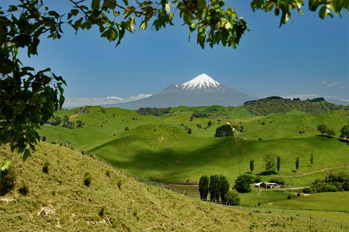Mt. Taranaki Neuseeland