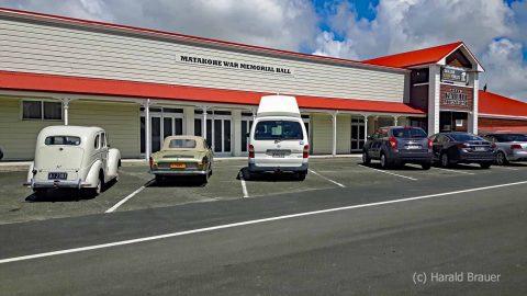 Memorialhall und Kaurimuseum