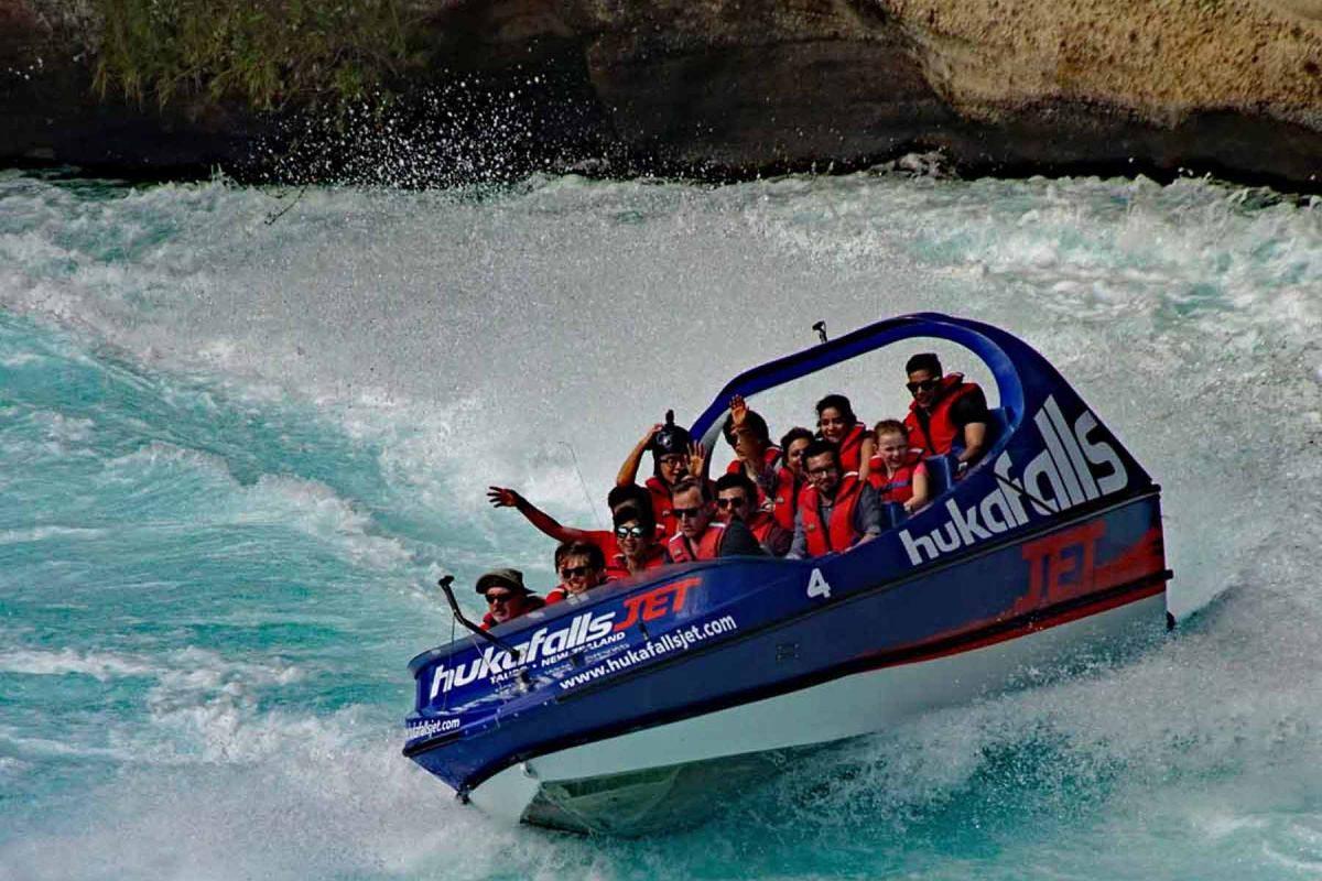 Jetboat Kukafalls