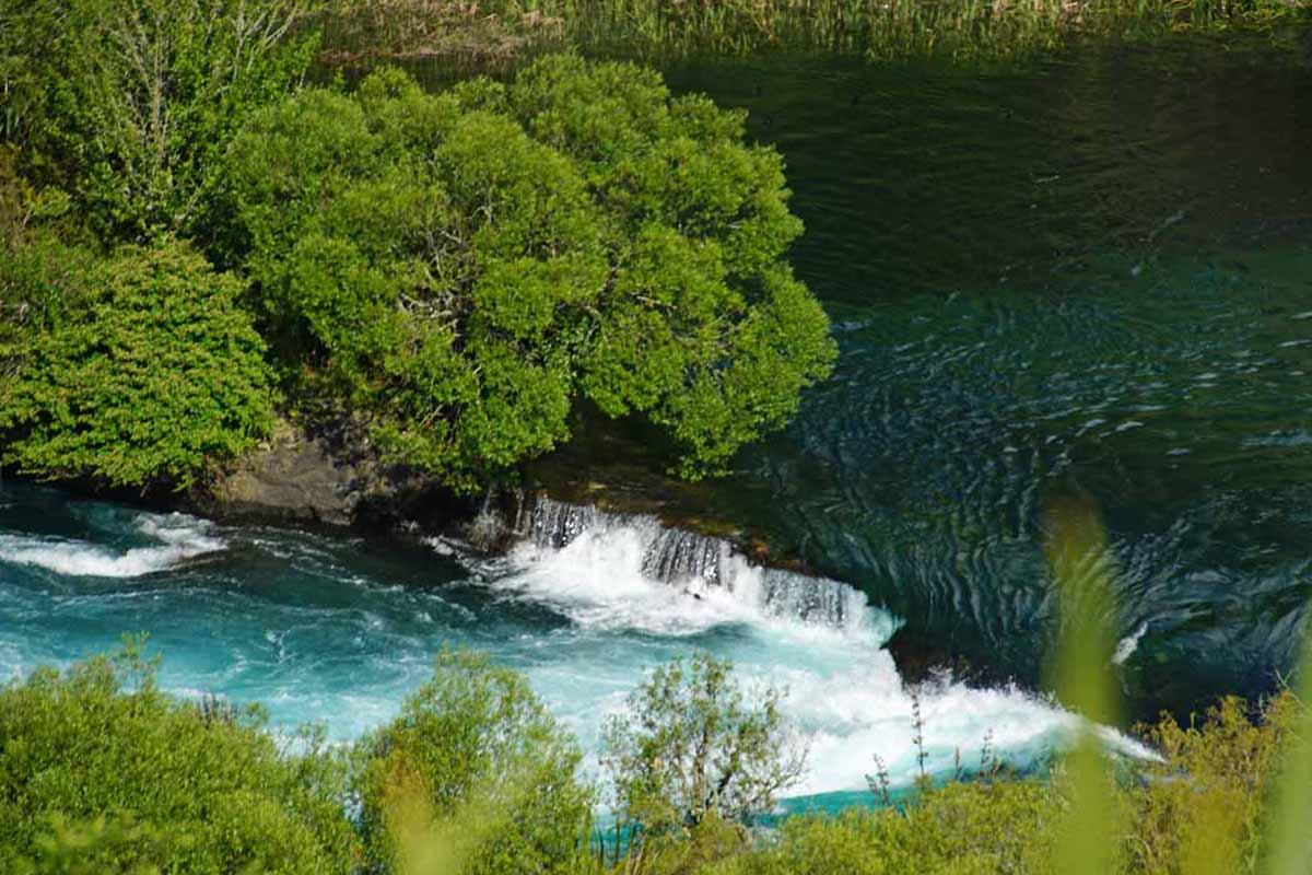 Hukafalls am Lake aupo