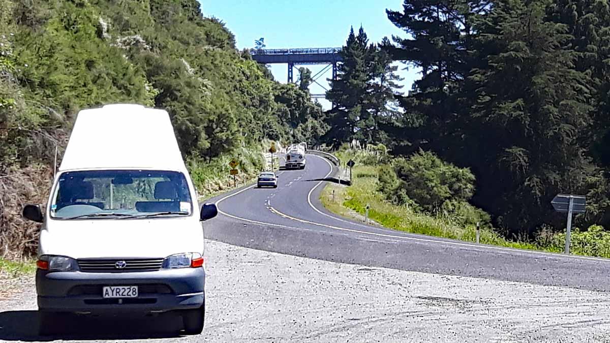 von Napier zur Tolaga Bay - Mohaka Viadukt