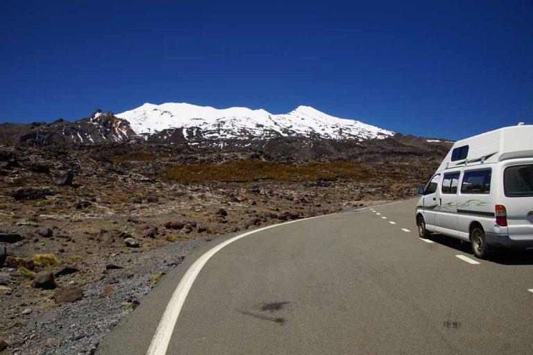 Mt. Ruapehu - schneebedeckt