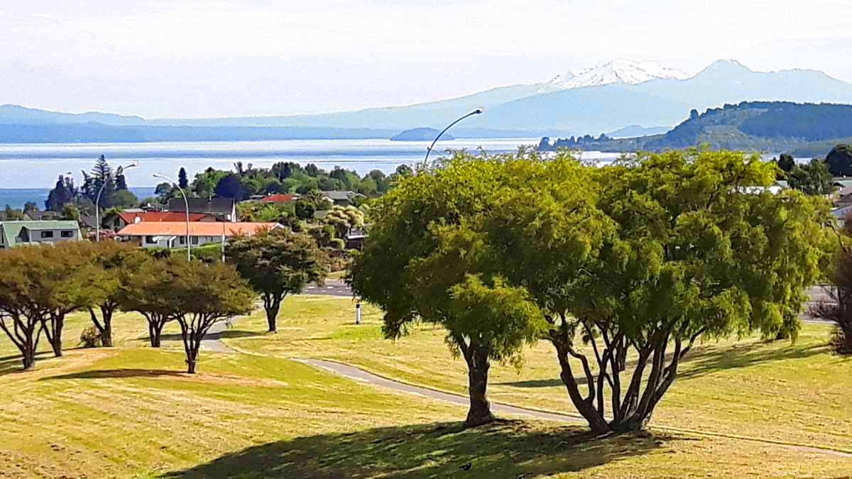 Taupo auf der Nordinsel Neuseelands