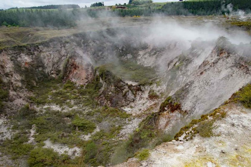 The craters of the moon - Neuseeland