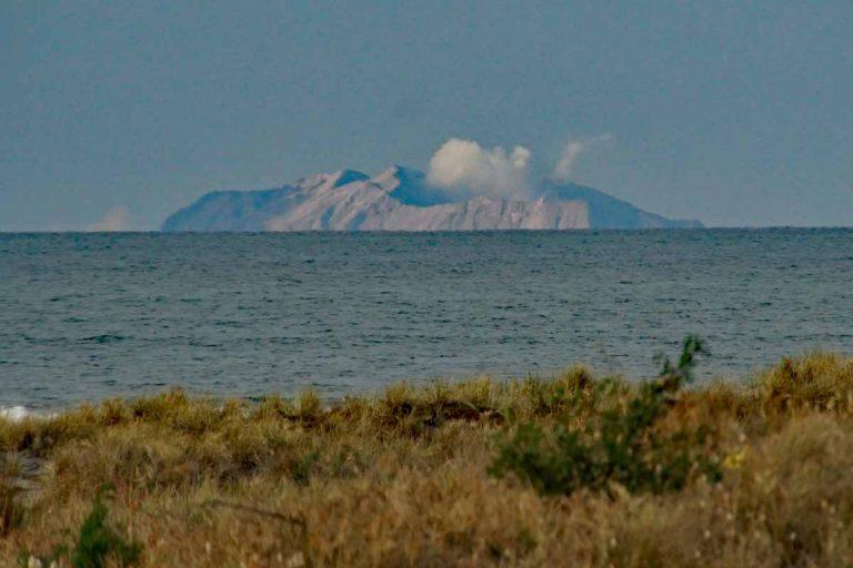 Whakaari auf White Island