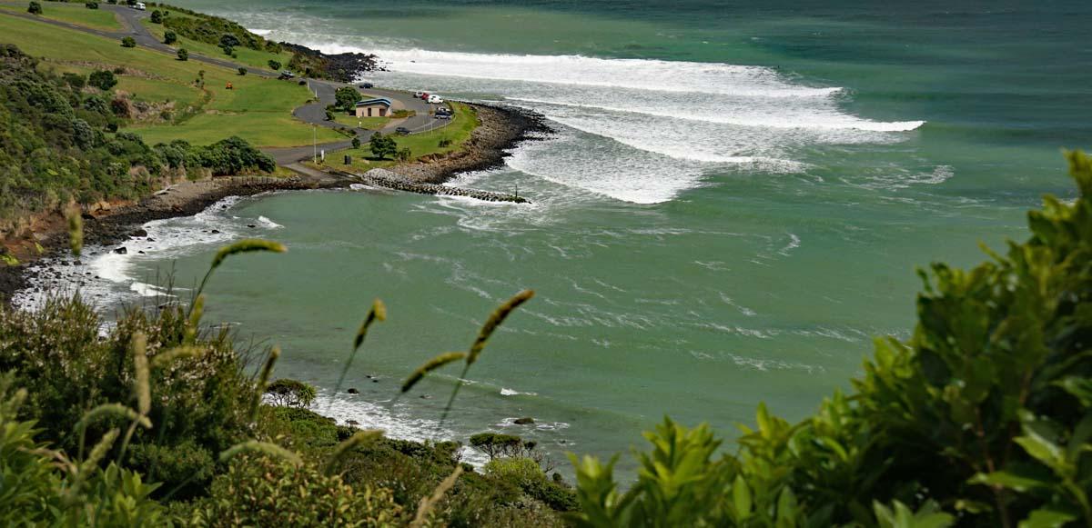 Raglan ein Surferparadies