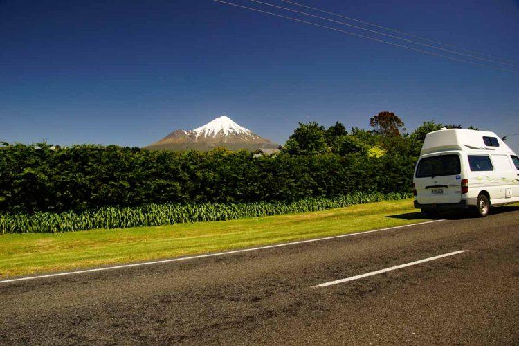 Der Mt Taranaki wird auch Mount Egmont genannt