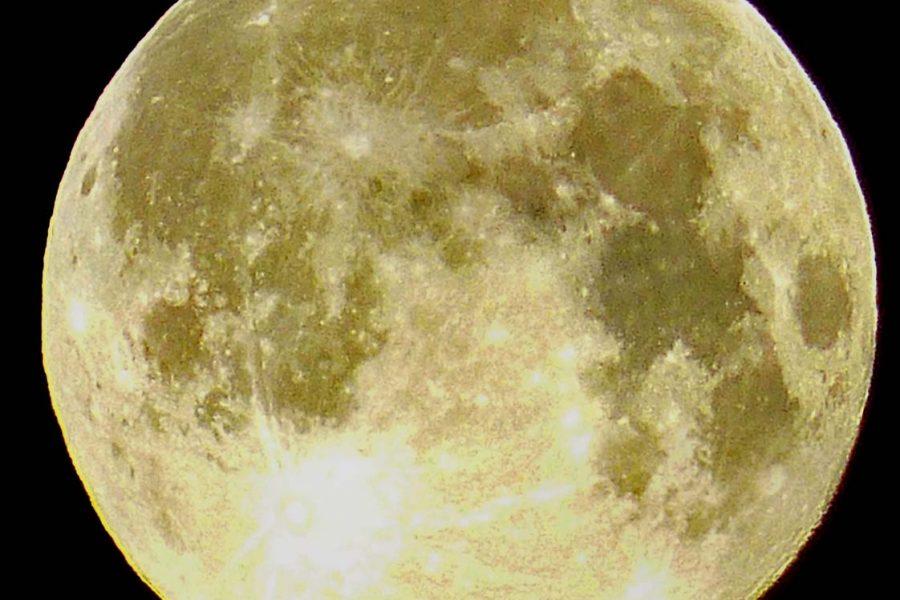 Der Mond steht auf dem Kopf - Vollmond in Europa