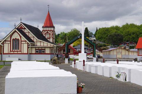 Mahnmal und Erinnerungsstätte für gefallenen Maoris in den Weltkriegen
